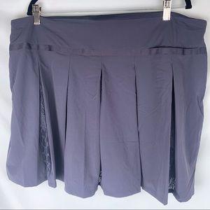 NWT Nike Golf Purple Lace Skirt Size XXL
